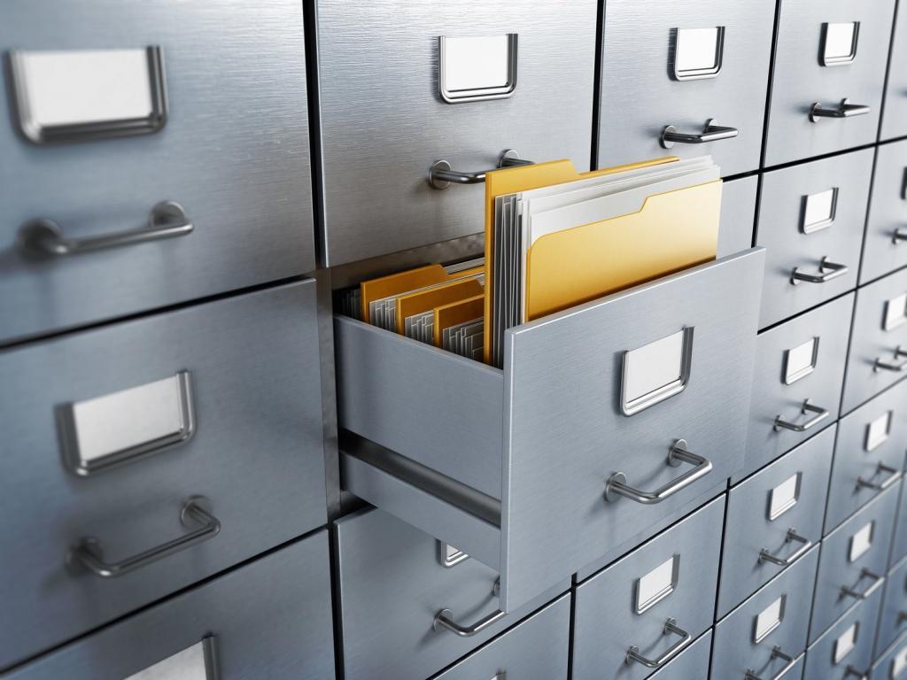 хранение документов организации