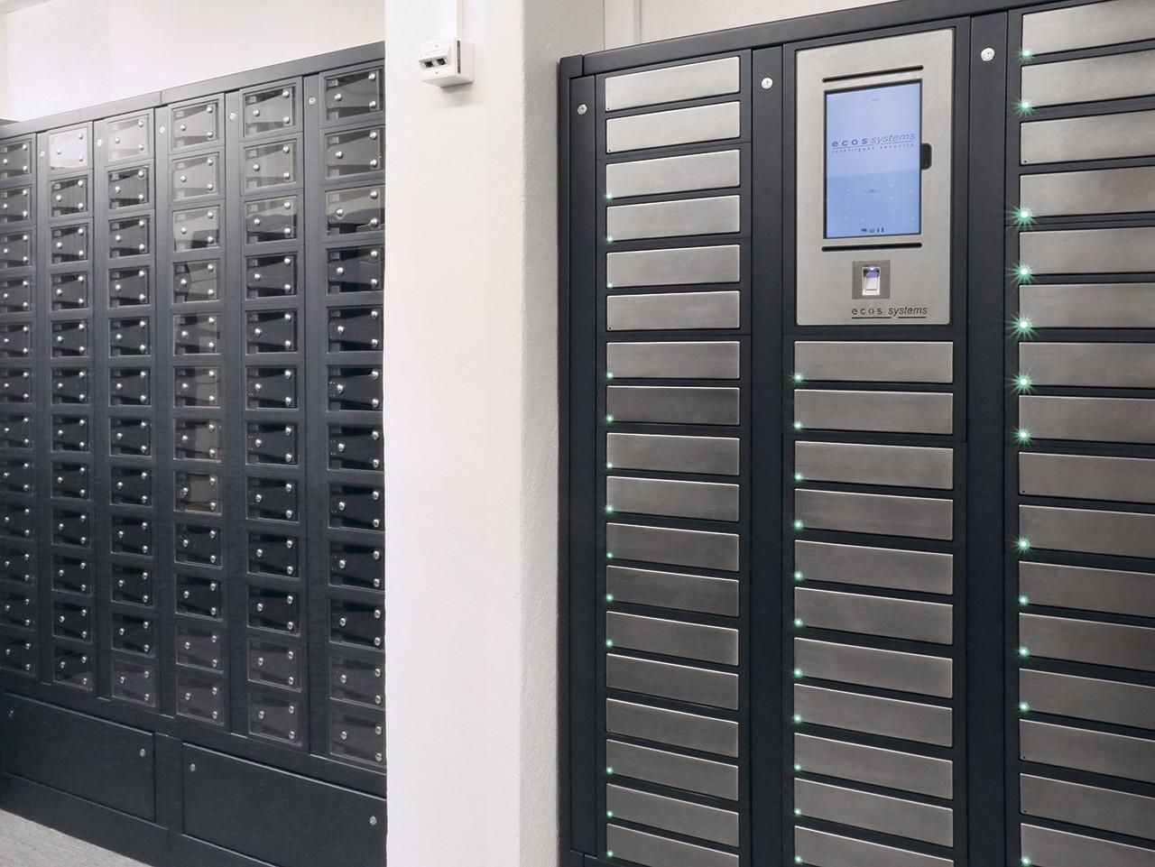 Электронные шкафы ECOS для хранениеоружия
