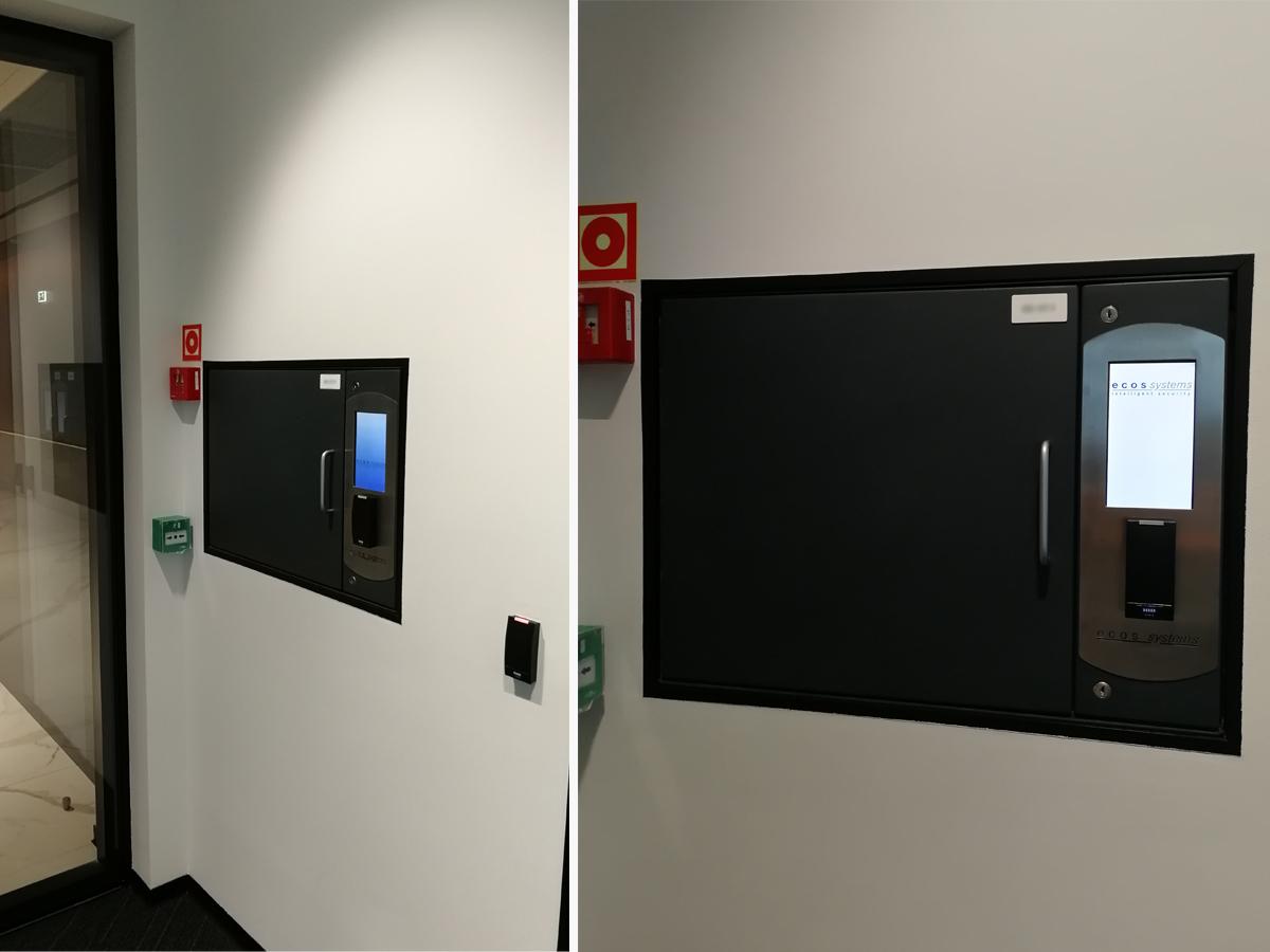электронные ключницы ECOS в бизнес центре