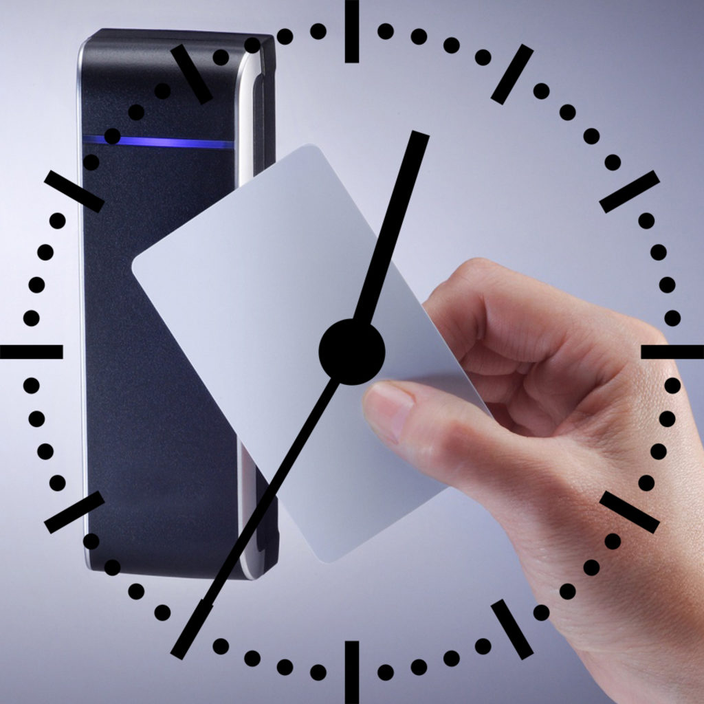 часы - контроль рабочего времени
