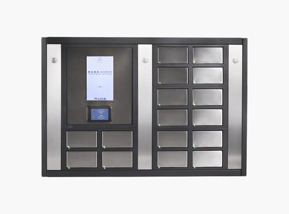 Automatic storage lockers